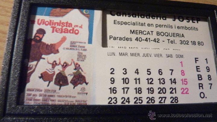 Cine: Curioso pequeño calendario 12 fotos cartel de peliculas 1987 cine hermanos marx E T ... - Foto 2 - 49494539