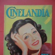 Cinéma: CINELANDIA. DICIEMBRE 1935. TOMO IX. Nº 12.. Lote 49511576