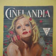Cinema: CINELANDIA. ENERO 1934. TOMO VIII. Nº 1.. Lote 49511666