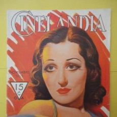 Cine: CINELANDIA. NOVIEMBRE 1935. TOMO IX. Nº 11.. Lote 49511744