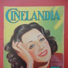 Cine: CINELANDIA. DICIEMBRE 1935. TOMO IX. Nº 12.. Lote 49511812