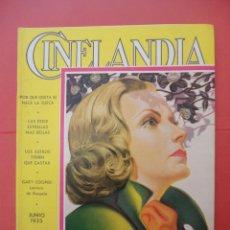 Cinéma: CINELANDIA. JUNIO 1935. TOMO IX. Nº 6.. Lote 49512134