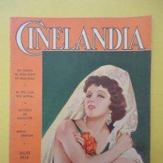 Cinema: CINELANDIA. JULIO 1935. TOMO IX. Nº 7.. Lote 49512303