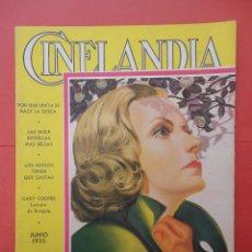 Cine: CINELANDIA. JUNIO 1935. TOMO IX. Nº 6.. Lote 49512378