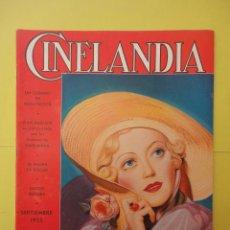 Cine: CINELANDIA. SEPTIEMBRE 1935. TOMO IX. Nº 9. . Lote 49512464
