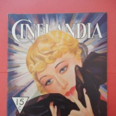 Cinéma: CINELANDIA. OCTUBRE 1935. TOMO IX. Nº 10.. Lote 49512546