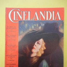 Cine: CINELANDIA. DICIEMBRE 1934. TOMO VIII. Nº 12. . Lote 49512705