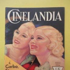 Cinéma: CINELANDIA. JULIO 1934. TOMO VIII. Nº 7.. Lote 49513028