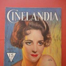 Cine: CINELANDIA. FEBRERO 1934. TOMO VIII. Nº 3. . Lote 49513227