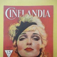 Cine: CINELANDIA. MAYO 1934. TOMO VIII. Nº 5. . Lote 49513351