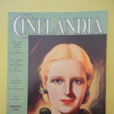 Cine: CINELANDIA. FEBRERO 1935. TOMO IX. Nº 2. . Lote 49513429