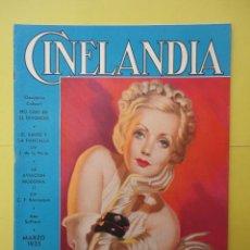 Cine: CINELANDIA. MARZO 1935. TOMO IX. Nº 3. . Lote 49513467