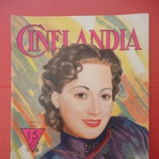 Cinéma: CINELANDIA. ABRIL 1936. TOMO X. Nº 4.. Lote 49513582