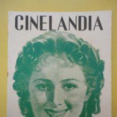 Cine: CINELANDIA. MARZO 1937. TOMO XI. Nº 3. . Lote 49513610