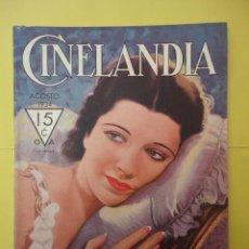 Cine: CINELANDIA. AGOSTO 1934. TOMO VIII. Nº 8. . Lote 49513810