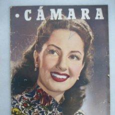 Cine: CÁMARA. Nº134. 1948 ROBERT MITCHUM, MARIO MATTOLI, GENE TIERNEY, D.W. GRIFFITH, INGRID BERGMAN.... Lote 49538803