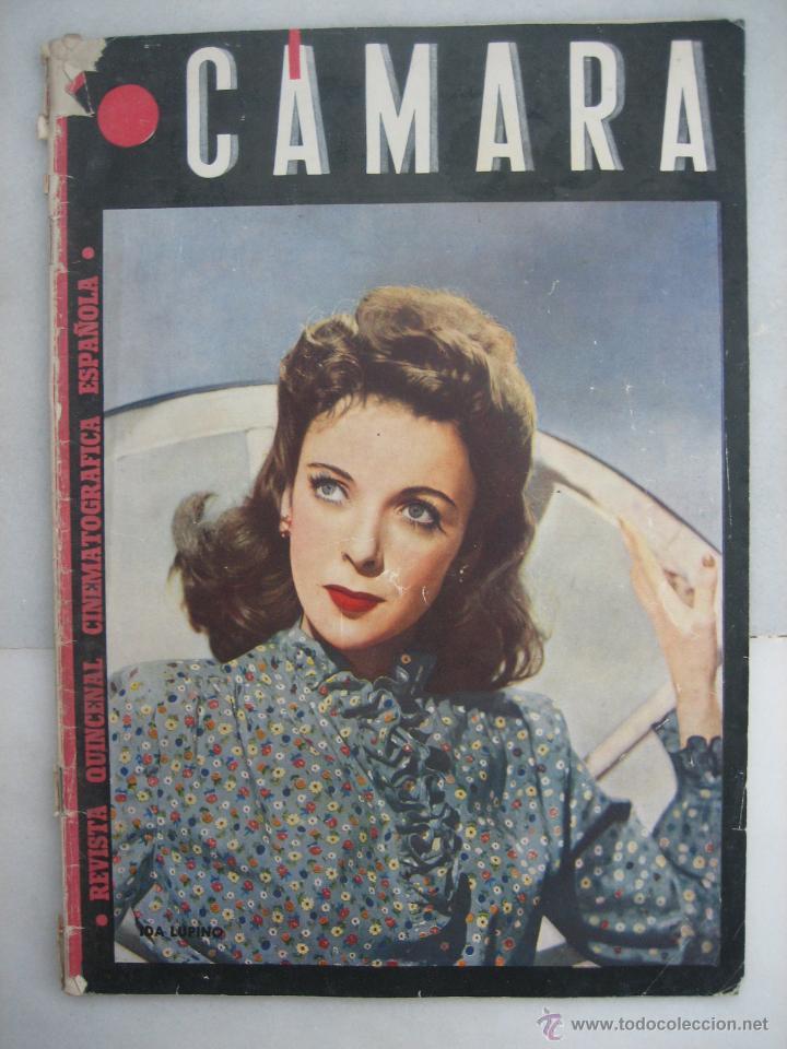 CÁMARA. Nº64. 1945 I LUPINO, D DARRIEUX,LUPE VÉLEZ,P. LAWFORD, ANITA LOUISE, MANOLO MORÁN, S.TEMPLE (Cine - Revistas - Cámara)