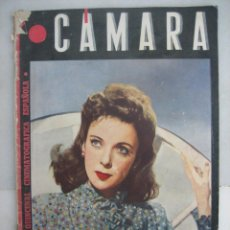 Cine: CÁMARA. Nº64. 1945 I LUPINO, D DARRIEUX,LUPE VÉLEZ,P. LAWFORD, ANITA LOUISE, MANOLO MORÁN, S.TEMPLE . Lote 49538937