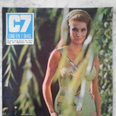 Cinema: REVISTA C7 CINE EN 7 DÍAS - Nº 471 - 1970 - ANNABELLA INCONTRERA, EMMA COHEN, FANNY CANO. Lote 49589217