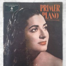 Cine: REVISTA PRIMER PLANO - Nº 939 - 1958 - JUANITA REINA, ELVIS PRESLEY, LOLA FLORES, WALT DISNEY. Lote 49888738