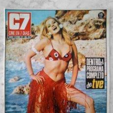 Cine: REVISTA C7 CINE EN 7 DÍAS - Nº 548 - 1971 - BEBA LONCAR, PAUL NEWMAN, LEE REMICK, SPENCER TRACY. Lote 49607632
