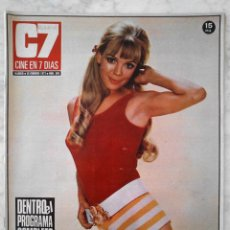 Cine: REVISTA C7 CINE EN 7 DÍAS - Nº 568 - 1972 MARION HUBER, CLAUDIO GUERIN, FRANCE GALL, BEATRICE WELLES. Lote 49607775