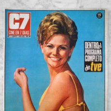 Cine: REVISTA C7 CINE EN 7 DÍAS - Nº 572 - 1972 - PAT WELLS, MURIEL CATALÁ, VICENTE PARRA, GRACITA MORALES. Lote 49611960