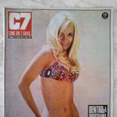 Cine: REVISTA C7 CINE EN 7 DÍAS - Nº 581 - 1972 - BARBARA CAMPBELL, CELENTANO, EVA REUBER-STAIER. Lote 49612447