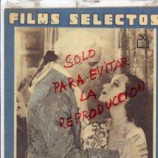 Cine: FILMS SELECTOS 1934 REVISTA 14 HOJAS . Lote 49621126
