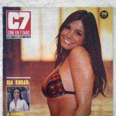 Cine: REVISTA C7 CINE EN 7 DÍAS - Nº 653 - 1973 - BETTY ANN CARR, SAN SEBASTIÁN, CARROLL BAKER, OJA KODAR. Lote 49621850