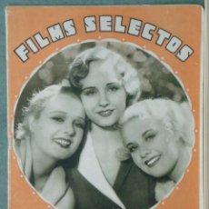 Cine: XX84 ANITA PAGE MADGE EVANS JOAN MARSH REVISTA ESPAÑOLA FILMS SELECTOS ABRIL 1932. Lote 49691343