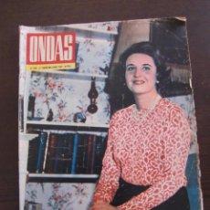 Cine: REVISTA ONDAS AÑO 1967 DOÑA PILAR DE BORBON. Lote 49712023