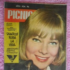 Cine: PICNIC 74 REVISTA FEMENINA 1960 JUNTOS TODA LA VIDA FOTONOVELA COMPLETA MAY BRITT. Lote 49718195