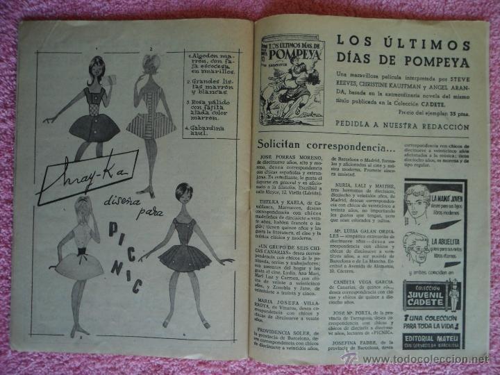 Cine: picnic 74 revista femenina 1960 juntos toda la vida fotonovela completa may britt - Foto 3 - 49718195
