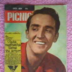 Cine: PICNIC 79 REVISTA FEMENINA 1960 CADA MUCHACHA TIENE SU AMOR FOTONOVELA VICTORIO GASSMAN. Lote 49718497