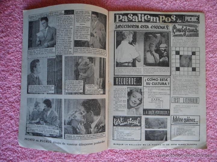 Cine: picnic 83 revista femenina 1960 su único amor fotonovela completa barry coe - Foto 2 - 49718688