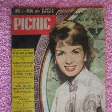 Cine: PICNIC 87 REVISTA FEMENINA 1960 NO RESISTAS AL AMOR DEBBIE REYNOLDS. Lote 49718741