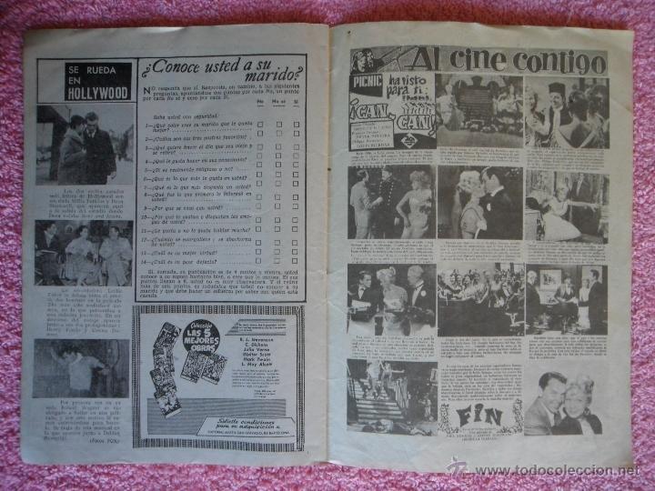 Cine: picnic 87 revista femenina 1960 no resistas al amor debbie reynolds - Foto 3 - 49718741