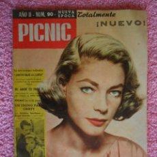 Cine: PICNIC 90 REVISTA FEMENINA 1960 JUNTOS BAJO LA LLUVIA. Lote 49718831