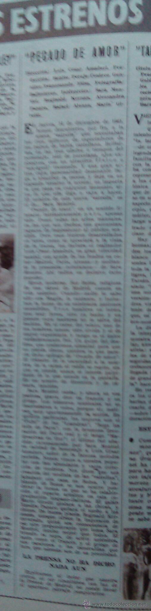 Cine: Cine en 7 Días, nº 36, de diciembre de 1961. Tita Cervera, Ava Gardner. Don Ameche. Sofía Loren - Foto 4 - 45249328