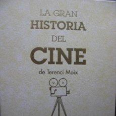 Cine: LA GRAN HISTORIA DEL CINE - TERENCI MOIX VOL 1 Y 2 + 3 CINE MODERNO Y ESPAÑOL(NUEVO-VER FOTOGRAFÍAS). Lote 49772552