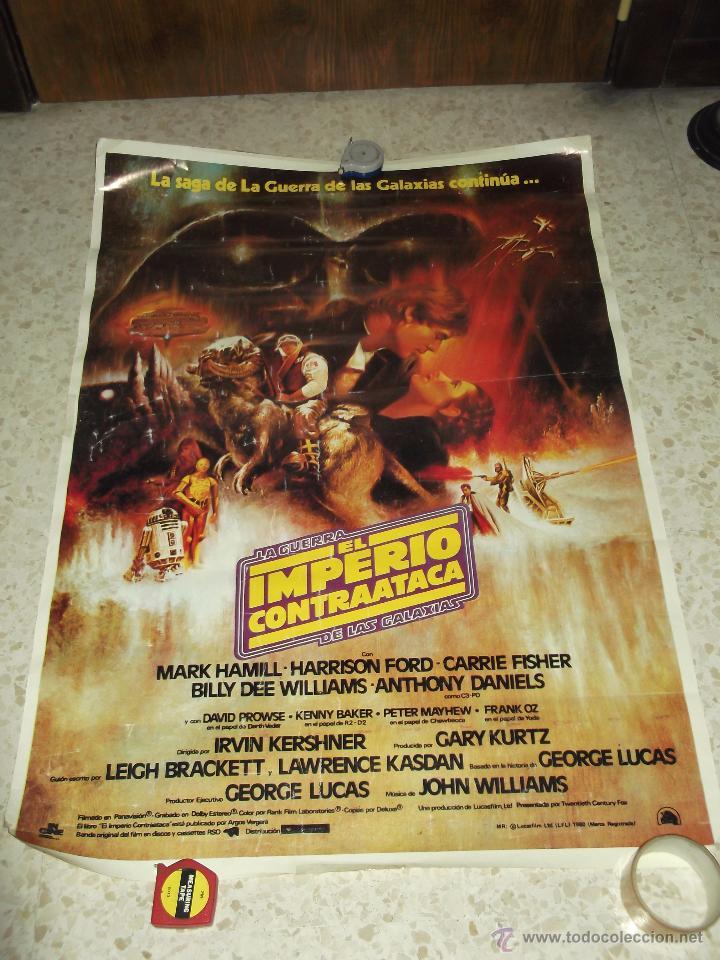 cartel póster el imperio contraataca de la guer - Comprar ...