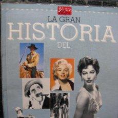 Cine: LA GRAN HISTORIA DEL CINE - TERENCI MOIX - 3 INDICES + 114 FASCÍCULOS (FALTAN 7 - VER DETALLE). Lote 49843202