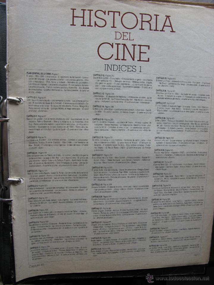 Cine: LA GRAN HISTORIA DEL CINE - TERENCI MOIX - 3 INDICES + 114 FASCÍCULOS (FALTAN 7 - VER DETALLE) - Foto 2 - 49843202