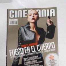 REVISTA CINEMANIA Nº 133. OCTUBRE 2006. FUEGO EN EL CUERPO. SCARLETT JOHANSSON. TDKR5