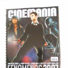 Cine: REVISTA CINEMANIA Nº 136. FENOMENOS 2007. PIRATAS DEL CARIBE 3. HARRY POTTER 5. SPIDERMAN 3. TDKR5. Lote 49902487