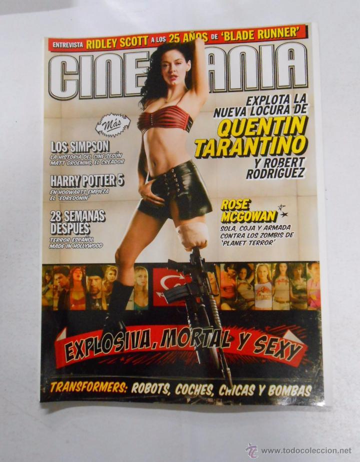 REVISTA CINEMANIA Nº 142. JULIO 2007. QUENTIN TARANTINO. ROBERT RODRIGUEZ. TRANSFORMERS. TDKR5 (Cine - Revistas - Cinemanía)