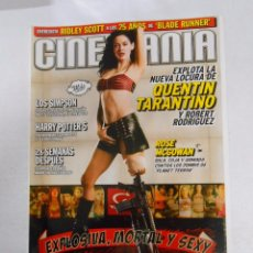 Cine: REVISTA CINEMANIA Nº 142. JULIO 2007. QUENTIN TARANTINO. ROBERT RODRIGUEZ. TRANSFORMERS. TDKR5. Lote 140964061