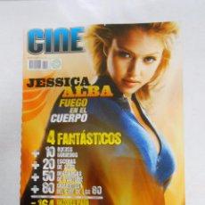 Cine - REVISTA CINEMANIA Nº 143. AGOSTO 2007. JESSICA ALBA. FUEGO EN EL CUERPO. 4 FANTASTICOS. TDKR5 - 49902527
