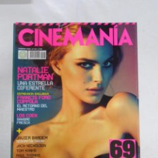 Cine: REVISTA CINEMANIA Nº 149. NATALIE PORTMAN. FRANCIS FORD COPPOLA. LOS COEN. JAVIER BARDEM. TDKR5. Lote 49902579